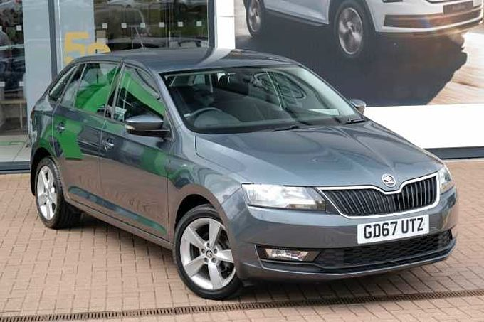 SKODA Rapid 1.0 TSI (95PS) SE Tech DSG Spaceback 5-Dr
